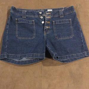Women's Levi's Patch Pocket Jean Shorts 12 MIS